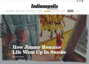 How Jimmy Romans' Life Went Up In Smoke