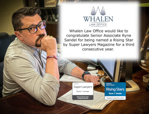 Ryne Sandel named a Rising Star by Super Lawyers Magazine (3rd consecutive year)