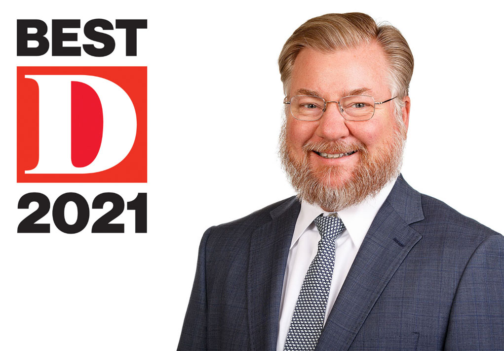 James Whalen named to D Magazine's 2021 Best Lawyers