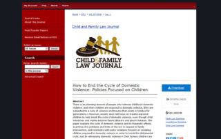 Congratulations to Junior Associate Attorney, Ashley Saenz, for her first published legal article