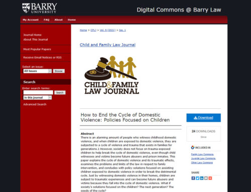Congratulations to Junior Associate Attorney, Ashley Saenz, for her first published legal article!